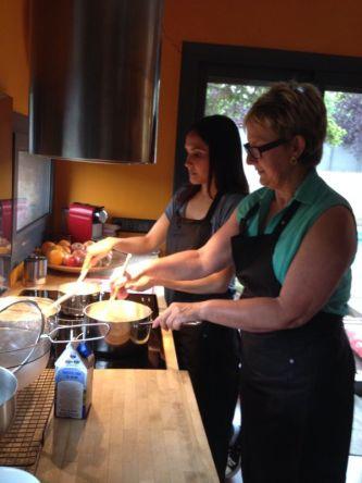 taller dulces cocina