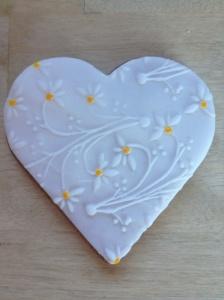 galleta corazón