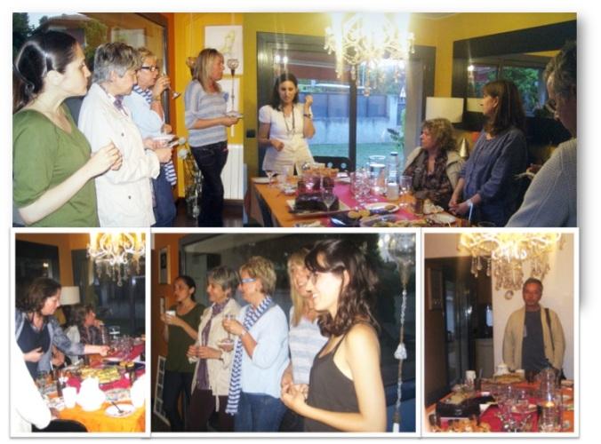 muchas gracias a los asistentes: Nuria, Tere, Trini, Marta, Miquel, Marga, Virtuts, Rosa y Stephanie